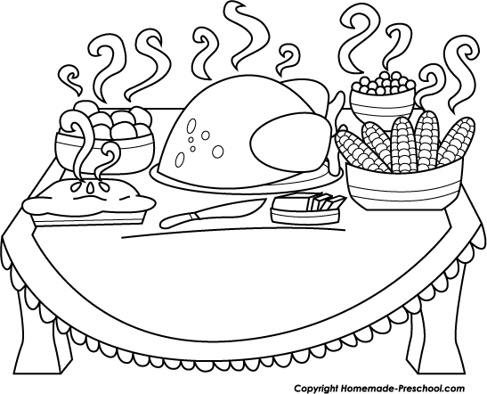 547x442 Collection Of Thanksgiving Plate Drawing High Quality, Free