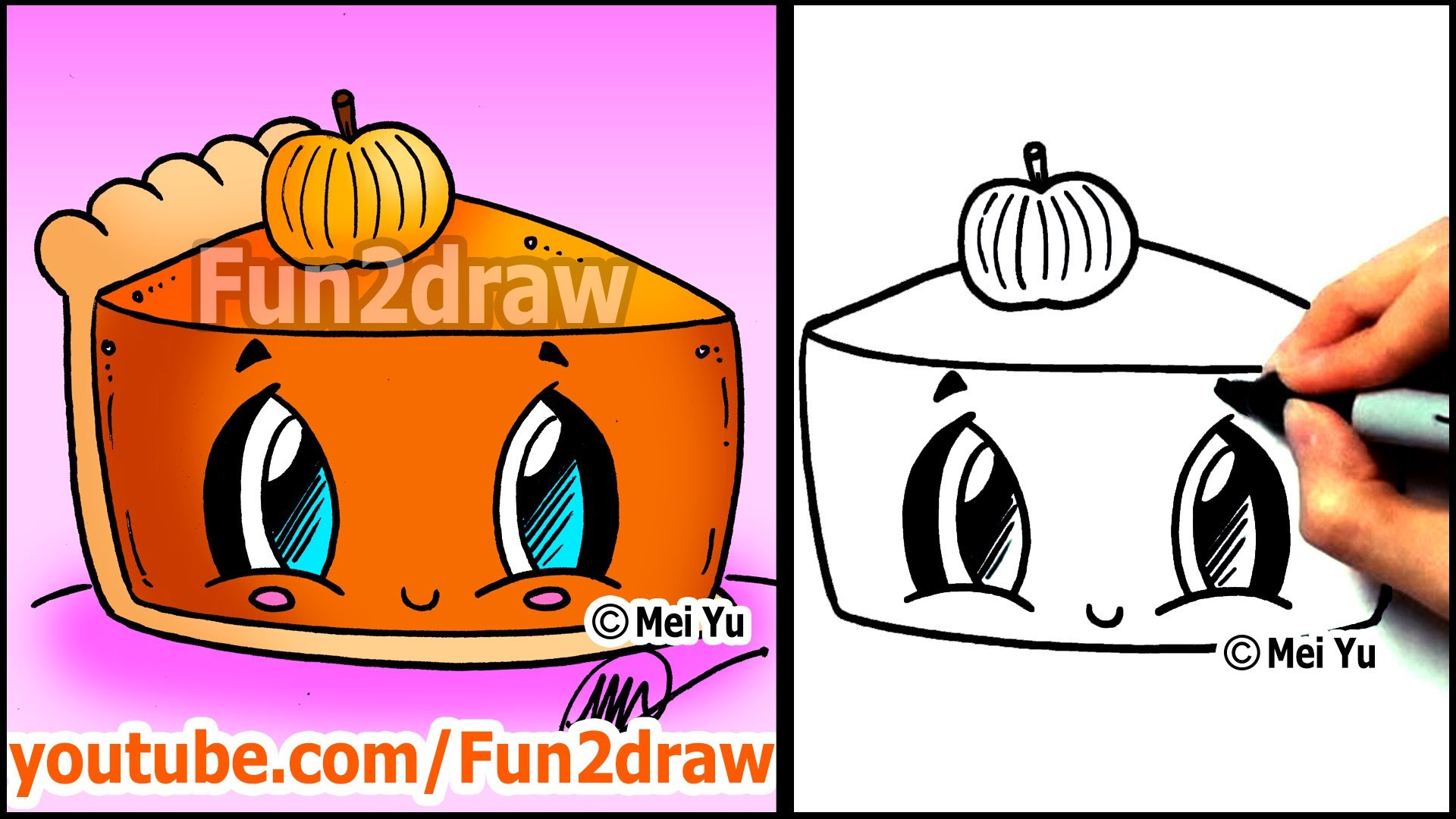 1920x1080 How To Draw Thanksgiving Things