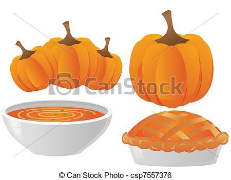 450x351 Thanksgiving Dinner. Pumpkin Pie And Soup.