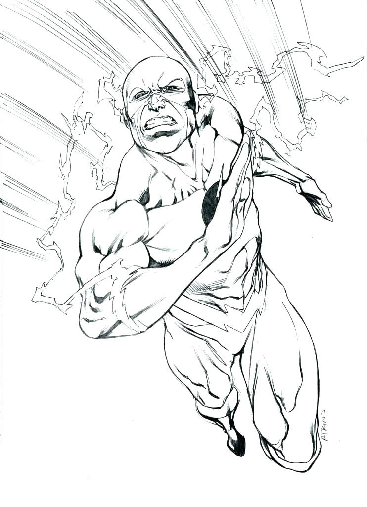 742x1024 18fresh The Flash Coloring Book Clip Arts Pages Brilliant Ash