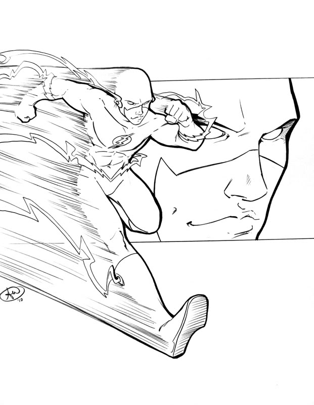 621x800 Flash C2e2 Sketch By Adamwithers