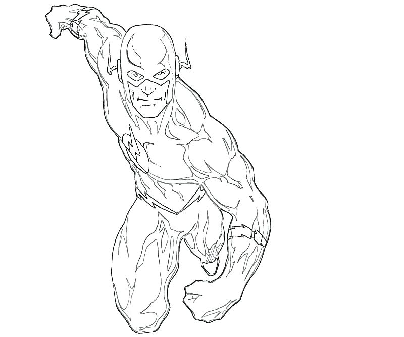 800x667 The Flash Coloring Pages Flash Coloring Pages The Flash Running