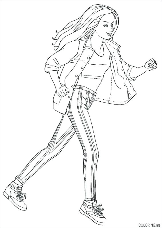 567x794 The Flash Coloring Pages Running Coloring Pages The Flash Running