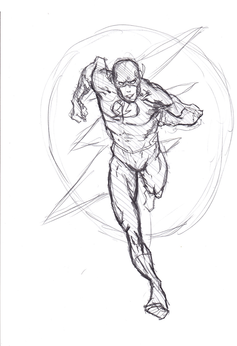 900x1311 Collection Of The Flash Running Drawing High Quality, Free