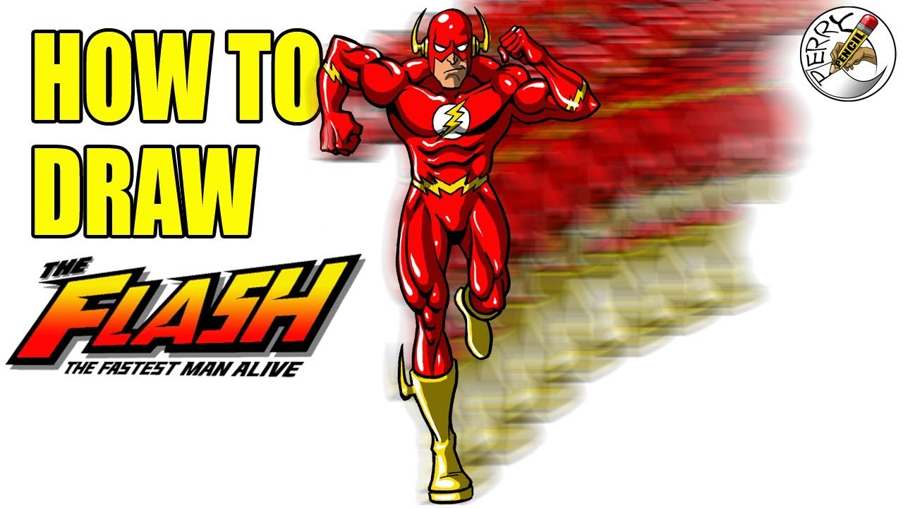 1280x720 How To Draw The Flash Running