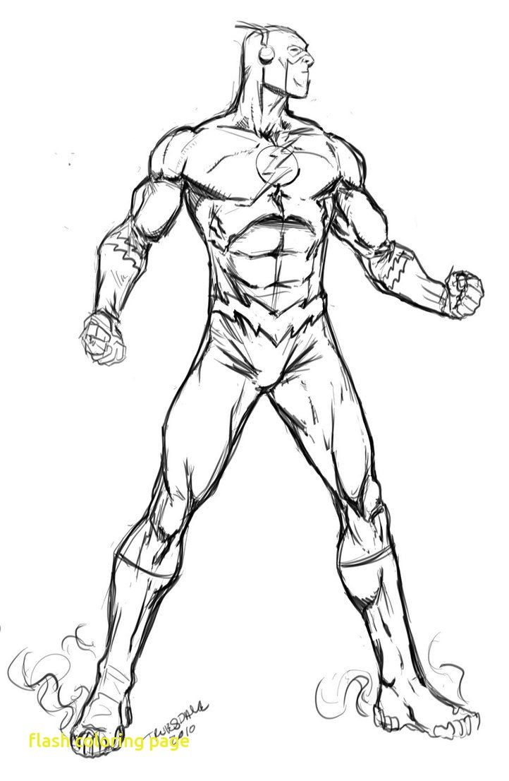 722x1106 Flash Coloring Page With The Flash Running Coloring Pages
