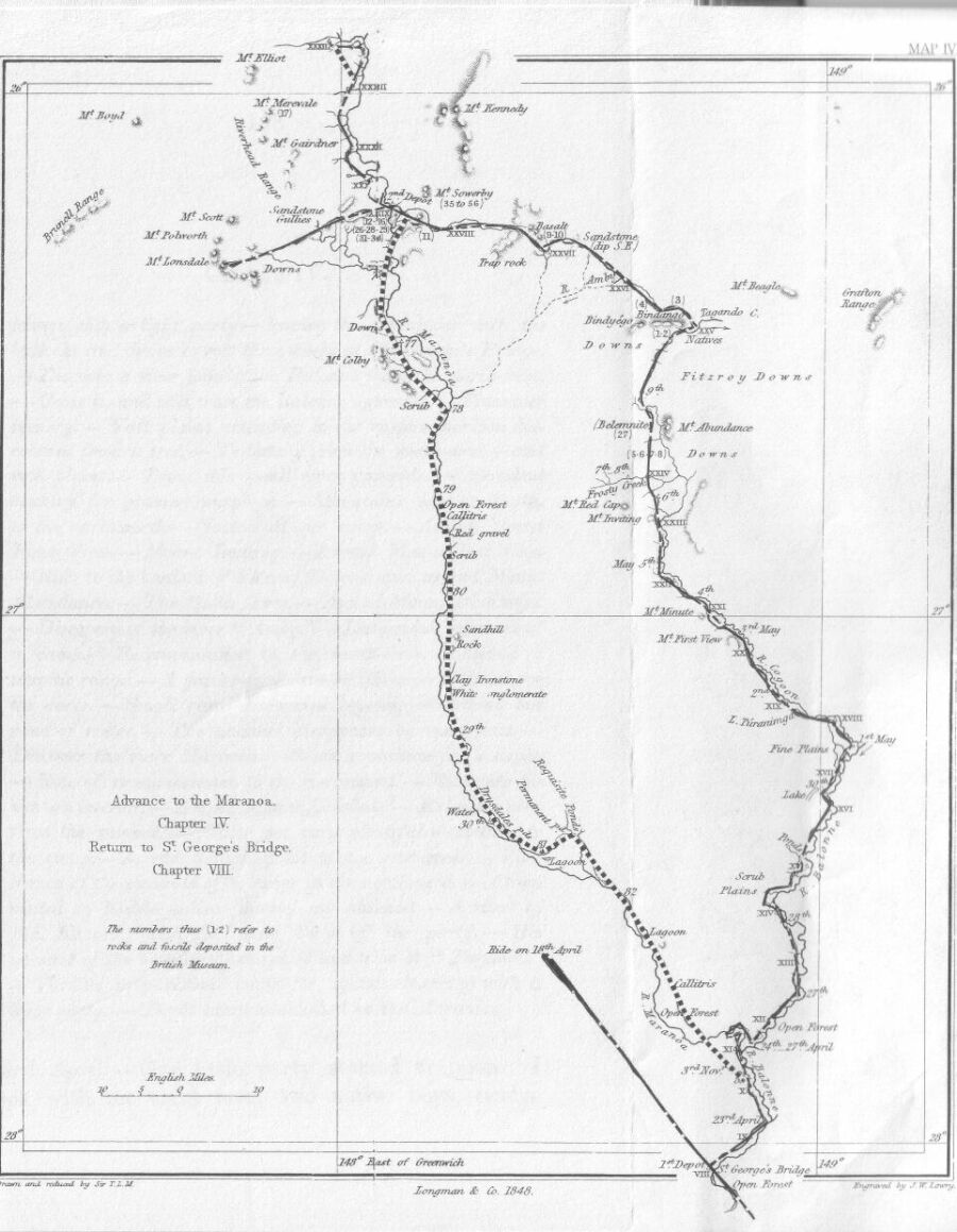 900x1159 Journal Of An Expedition Into The Interior Of Tropical Australia