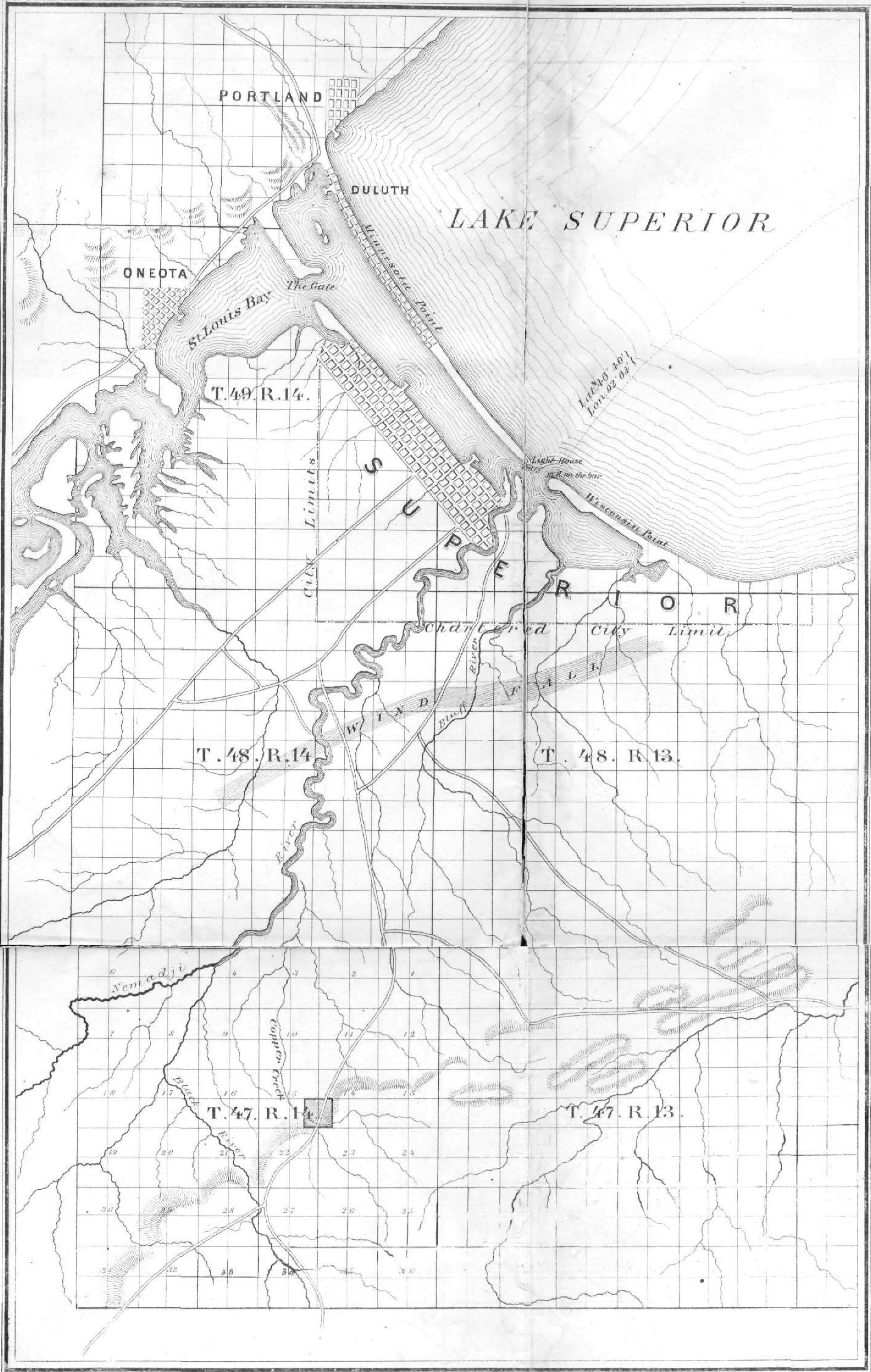 2141x3374 Lake Superior Copper Chequamegon History