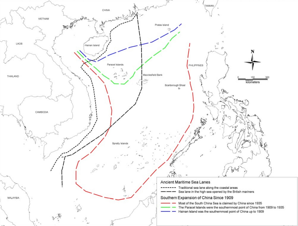1200x913 Scarborough Shoal. It's Not About Fishes Or Oil. It's About Power