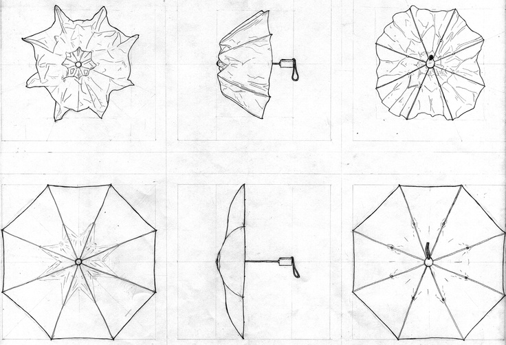 Three View Orthographic Drawing