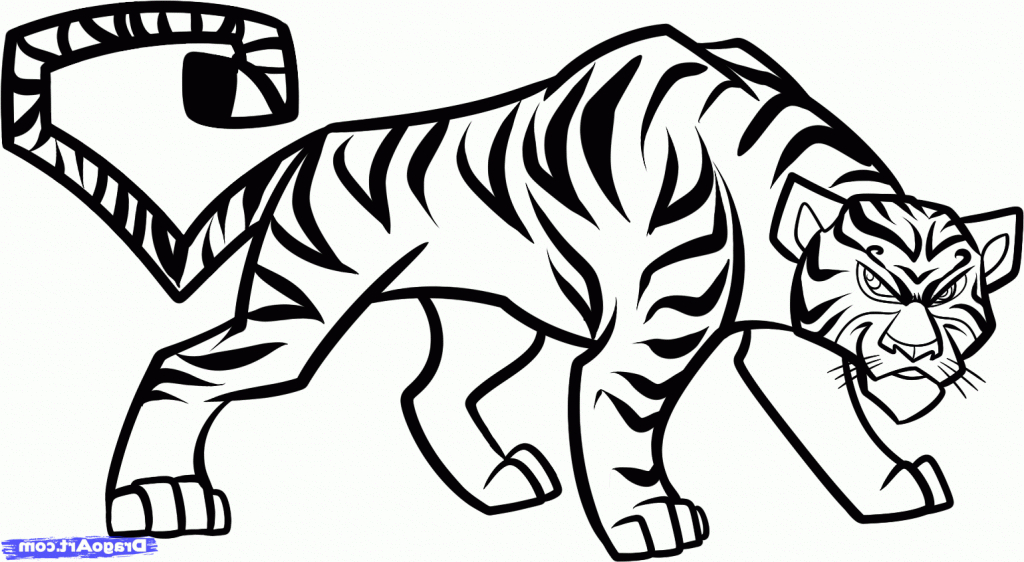 Tiger Drawing Easy At Getdrawings Com Free For Personal Use Tiger