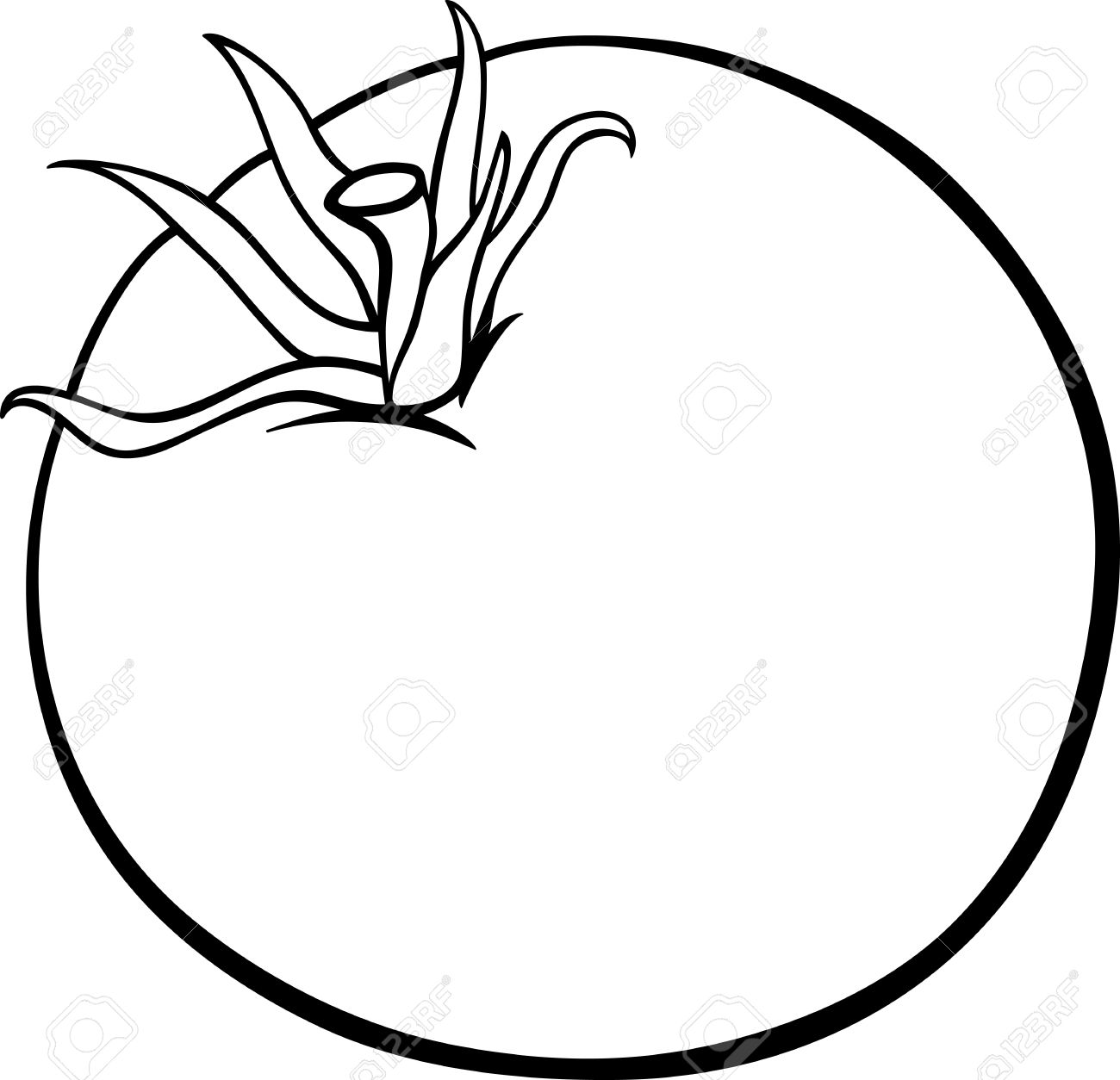Tomato Drawing Pictures