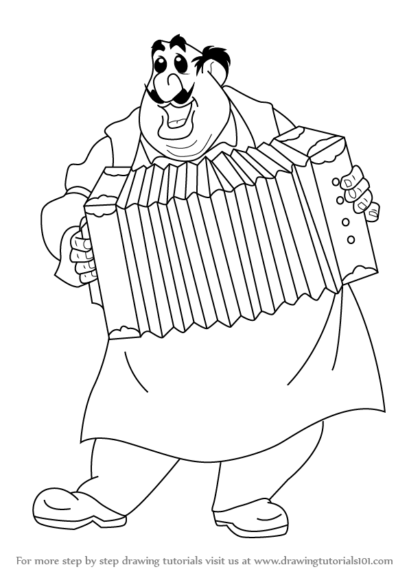 596x843 Learn How To Draw Tony From Lady And The Tramp (Lady And The Tramp