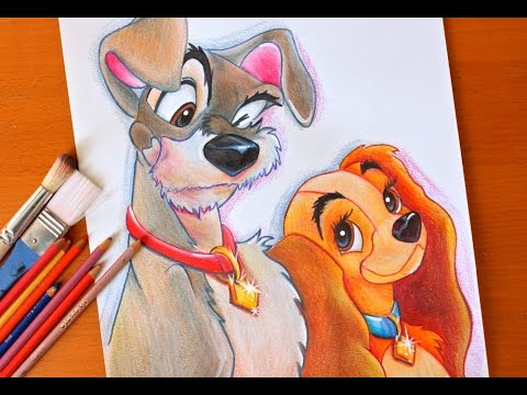 480x360 Drawing Lady And The Tramp Disney Budget Art