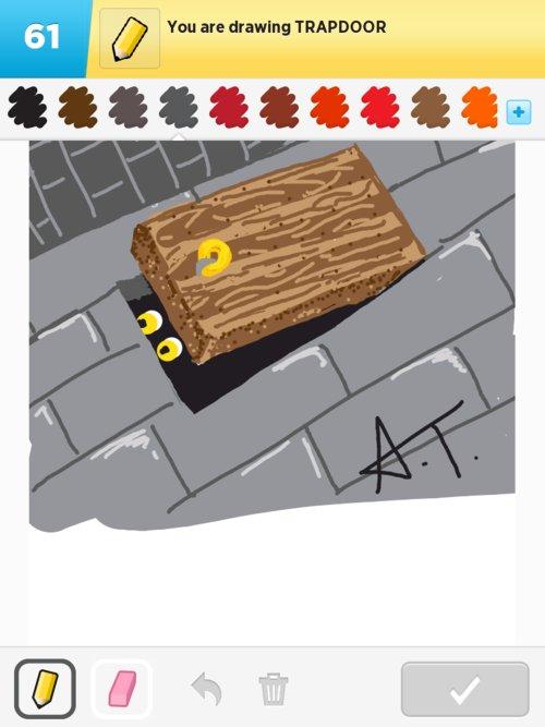 500x667 Trapdoor Drawings