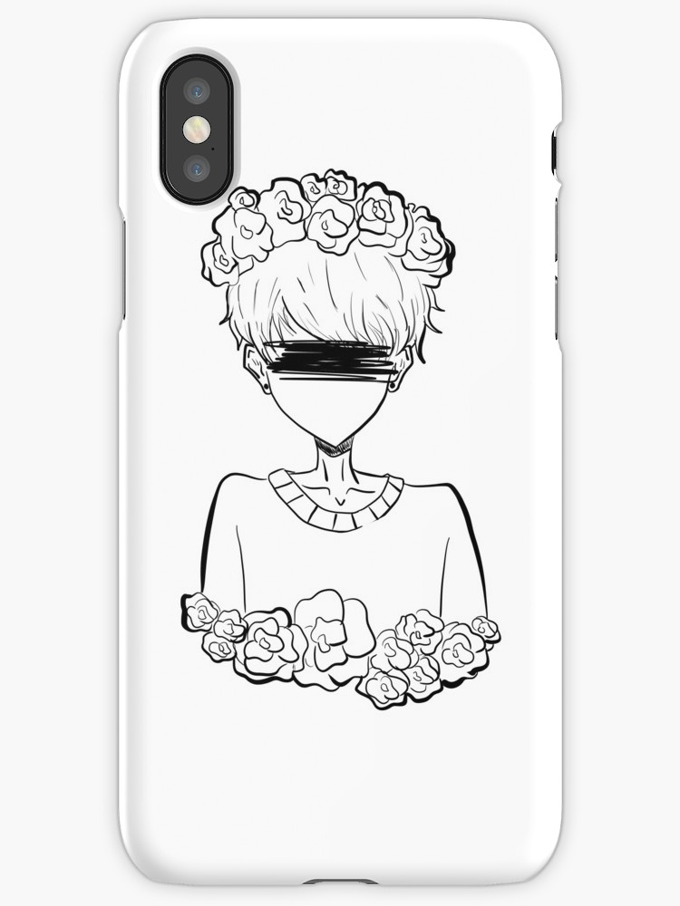 750x1000 Aesthetic Tumblr Rose Boy Iphone Cases Amp Covers By