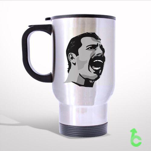 500x500 Sell Freddie Mercury Drawing Vector Travel Mug Travel Mug