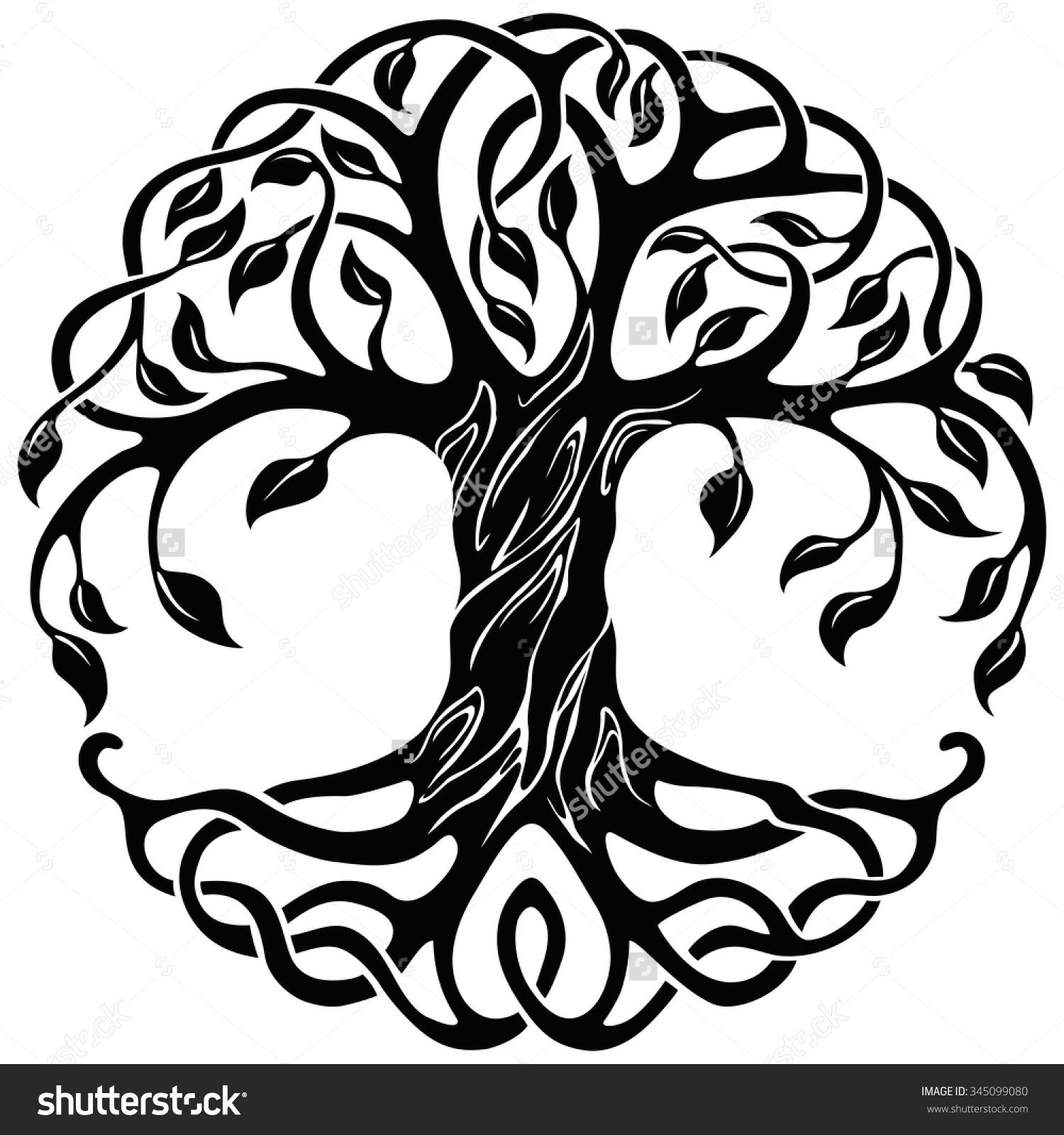 1500x1600 Celtic Tree Of Life Drawing Celtic Knot Clipart Celtic Tree Life