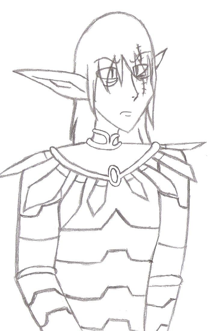 725x1102 Amulet Trellis Sketch By Midnighttheinsomniac