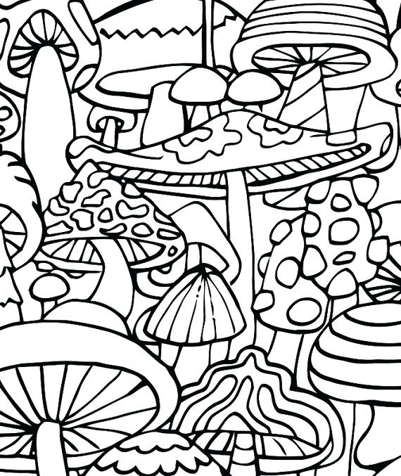 570x677 Trippy Hippie Coloring Pages Trippy Coloring Pages Hippie Coloring