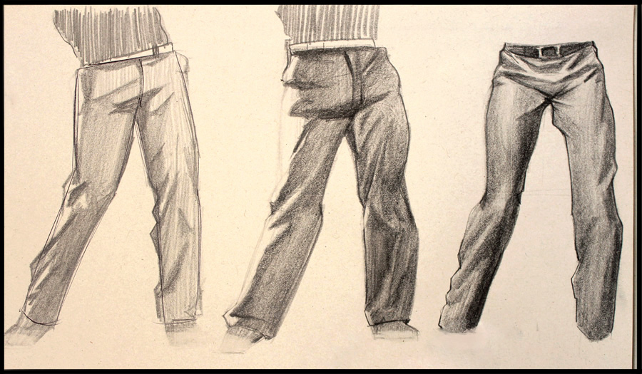 900x525 Trouserspants Study By Icecoldart