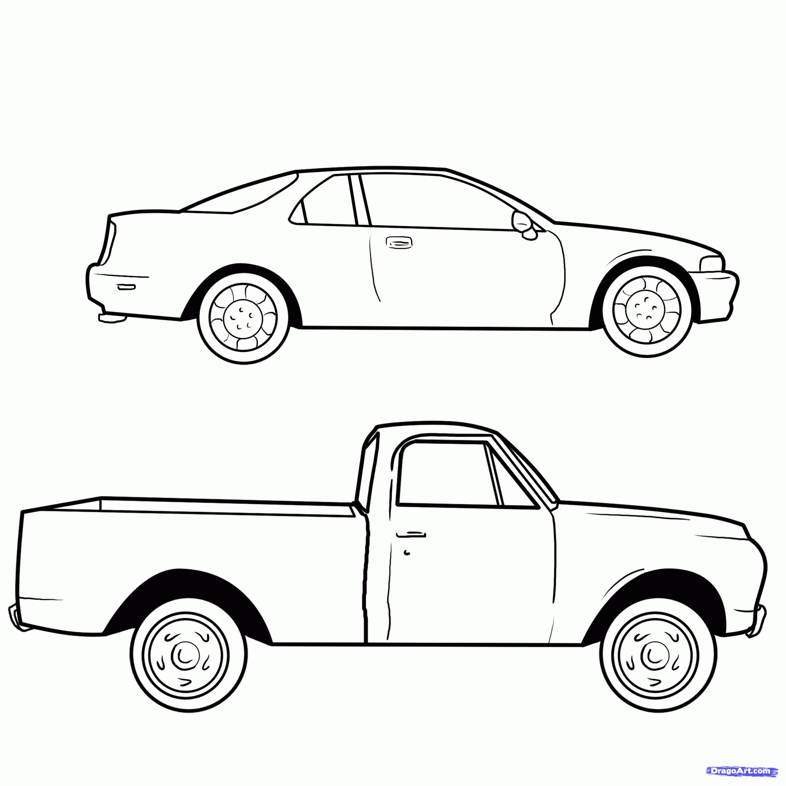 2550x2550 Gallery Drawings Of Cars And Trucks,