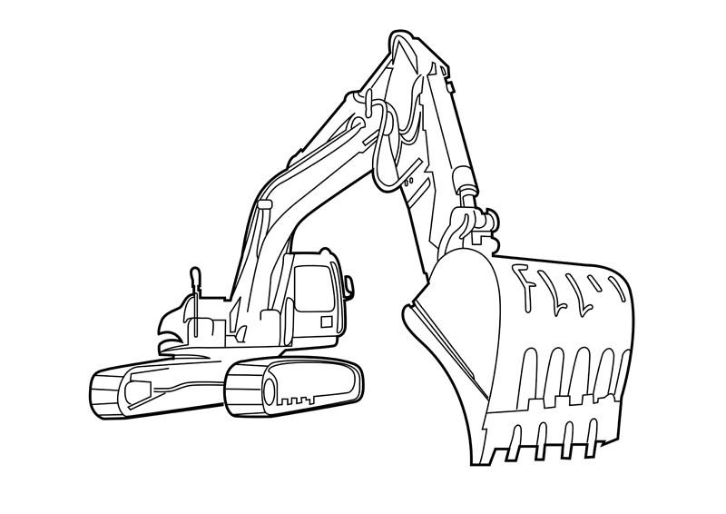 800x566 Bulldozer Side View Clip Art, Cat Bulldozer Clipart New Bulldozer