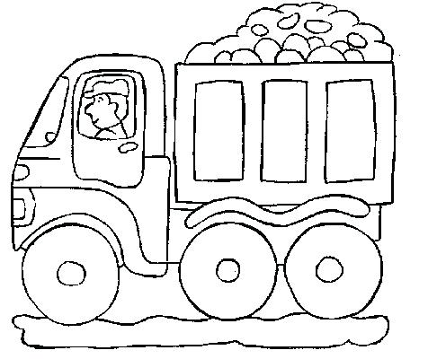 496x400 Coloring Pages Truck Transport Coloring Pages Trucks Pictures