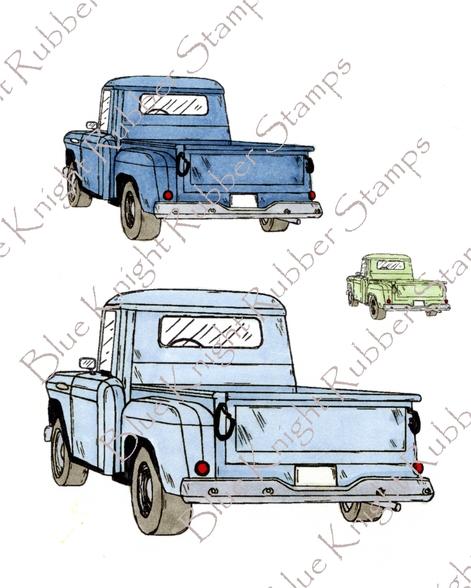 471x588 Rear Side View Truck