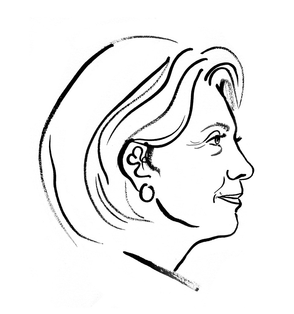 960x1025 11 Victorious Hillary Clinton Illustrations That Could Have Been Gq