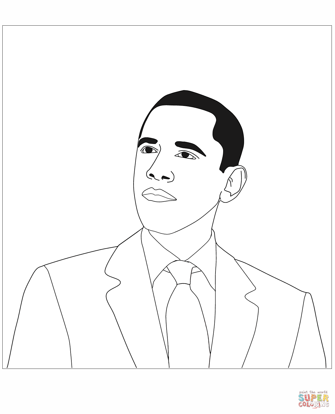 1267x1567 Sizable Donald Trump Coloring Pages Page Free