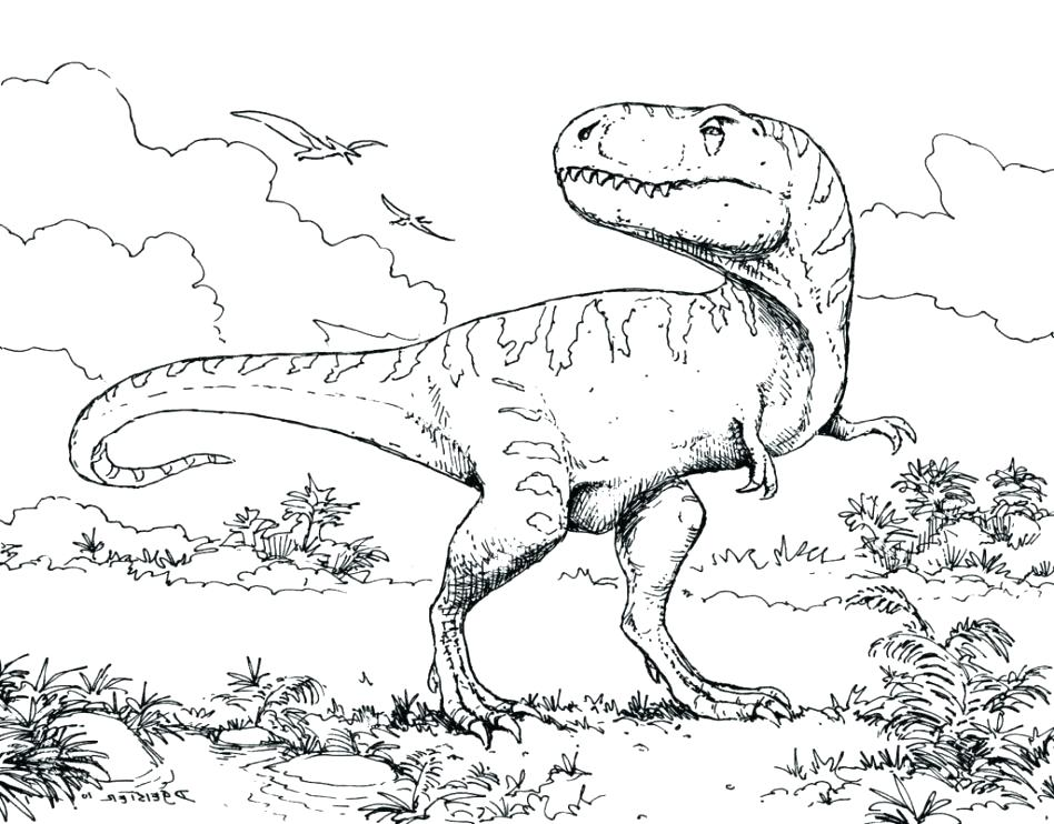 948x742 The Truth About Realistic Dinosaur Coloring Pages Sheets Preschool
