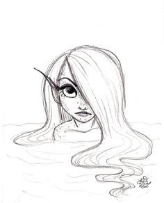 236x292 Simple Mermaid