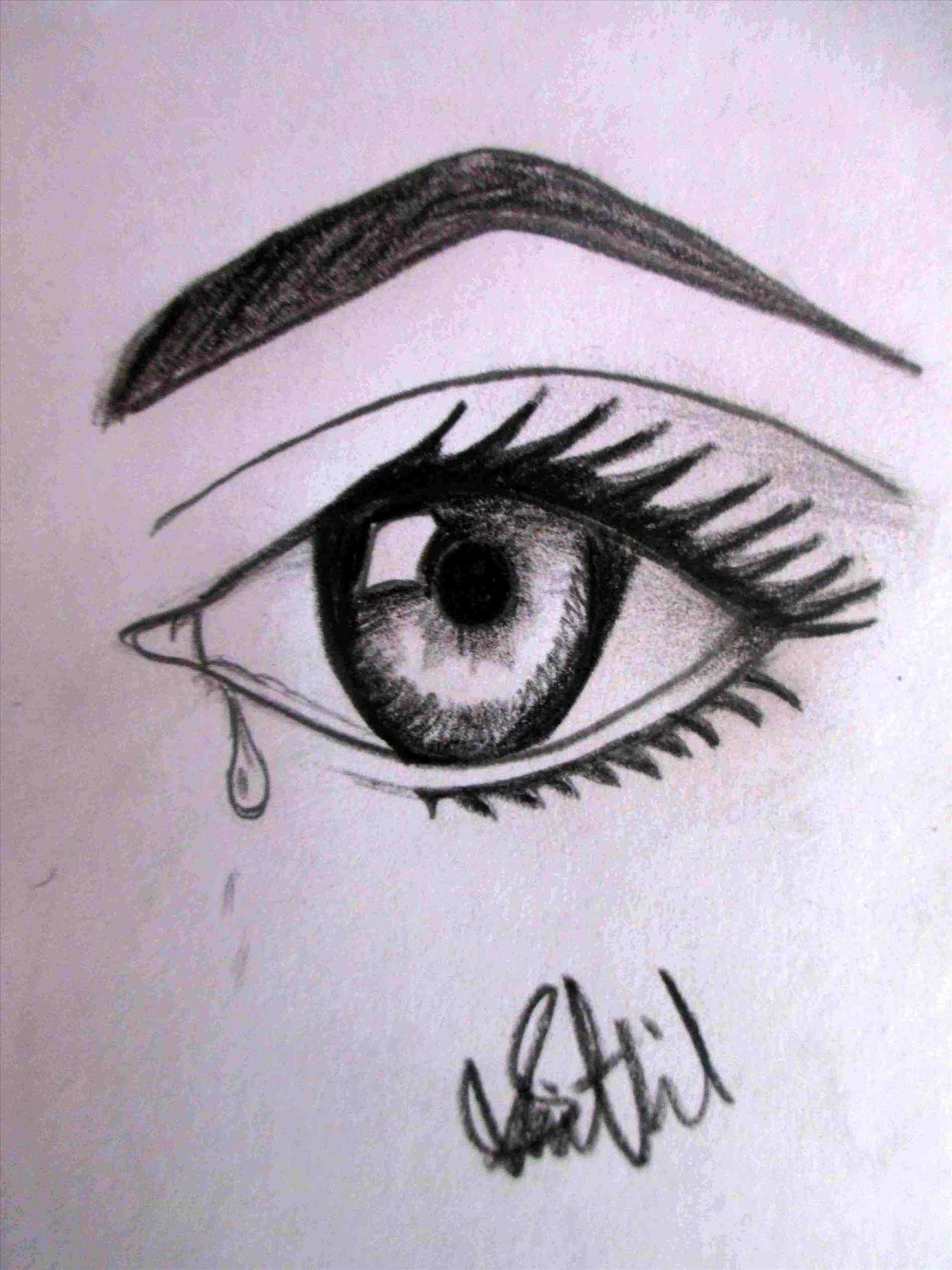 1899x2533 How To Draw Easy Eyes How To Draw Simple Anime Eyes 5 Steps (With