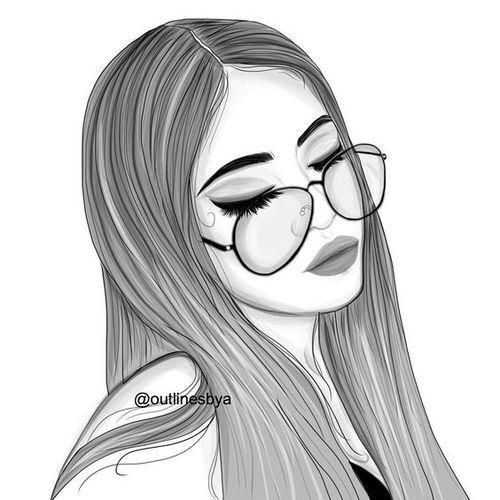 Tumblr Drawing Girl
