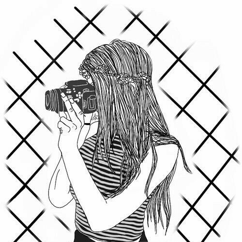 500x499 Collection Of Girl Drawing Tumblr Cute High Quality, Free