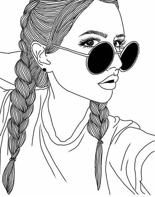 497x633 Outline Tumblr Drawings Drawings, Outlines, Sunglasses, Tumblr