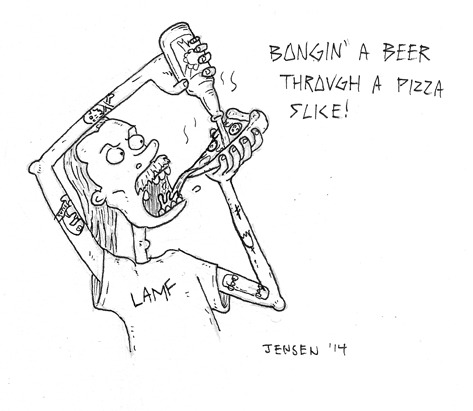 473x411 Pizza Beer Bong Tumblr