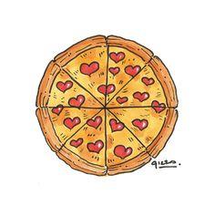 236x236 Pizza Illustration Tumblr