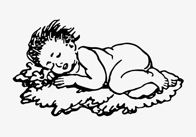 650x456 Tummy Sleeping Children, Child, Go To Bed, Tummy Png And Vector