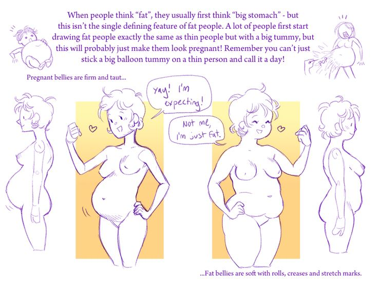 736x558 105 Best Drawing Chubby And Overweight Fat Characters Body Fat