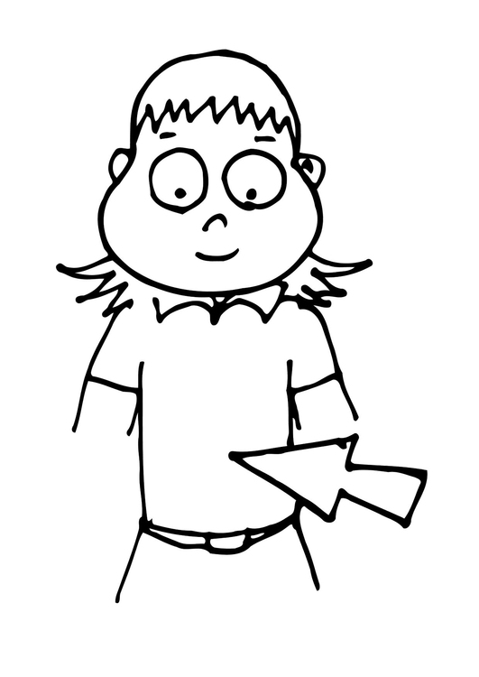 531x750 Coloring Page Stomach
