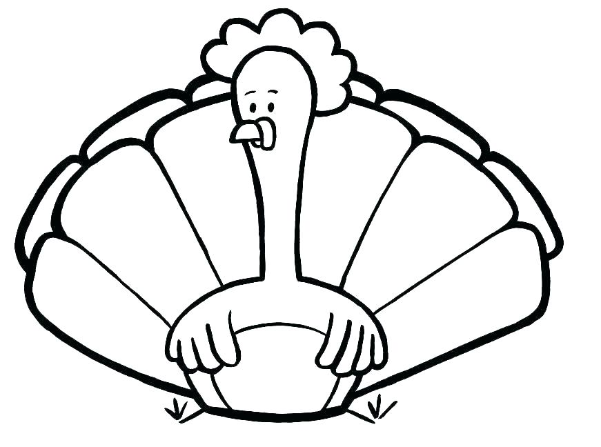 871x648 Coloring Page Turkey Thanksgiving Turkey Coloring Page Turkey