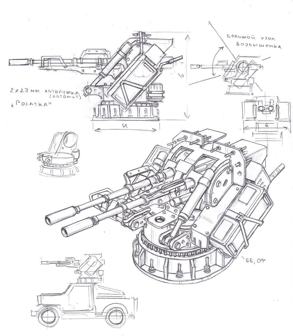 1024x1176 Autocannonx2 23 Turret By Tugodoomer 3d