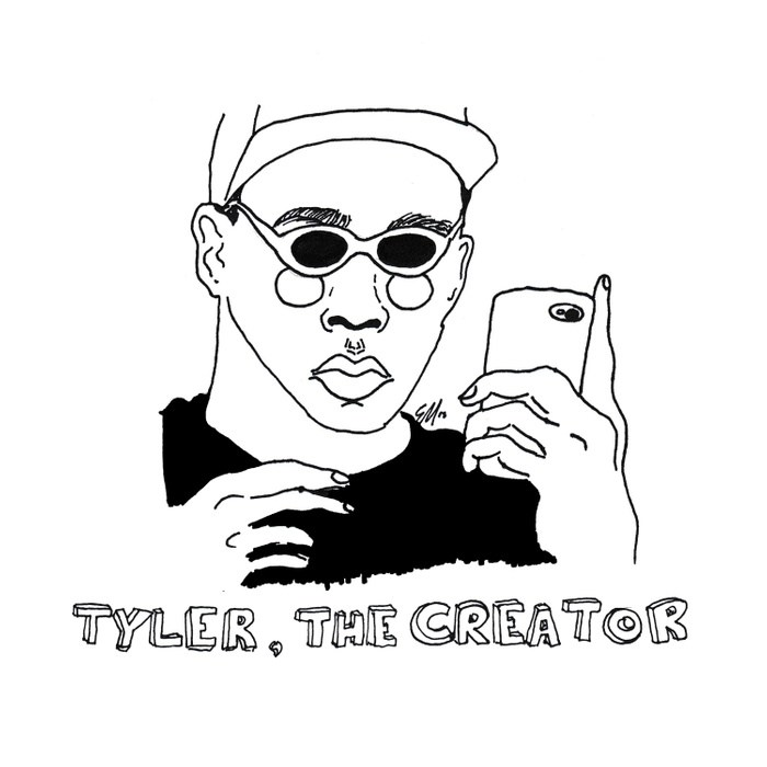 700x700 Tyler, The Creator Duvet Cover By Cactei Society6