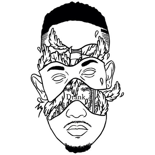 500x500 Tyler The Creator Drawing Fashion Wiz Khalifa Cartoon The Weeknd