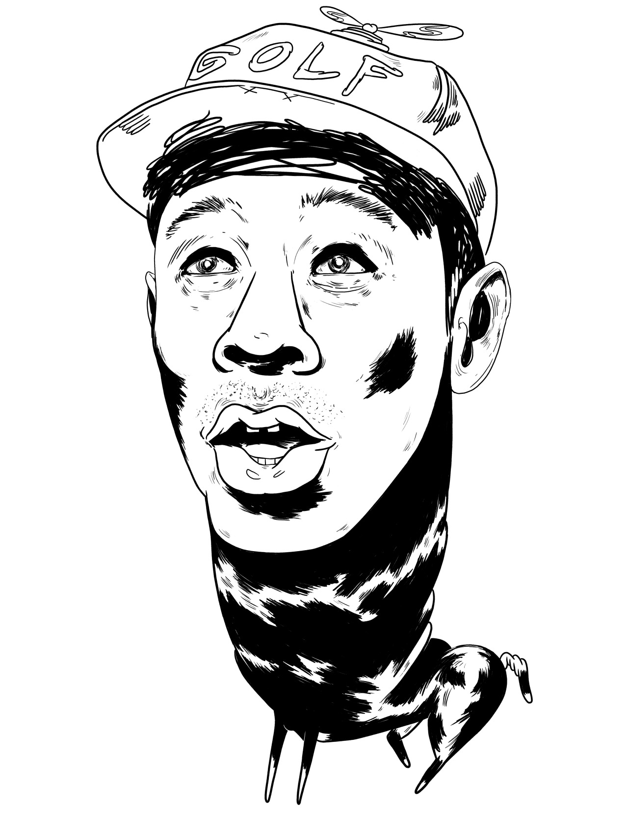 1280x1707 Art) By Renaps Parisi Tyler, The Creator, The Beast