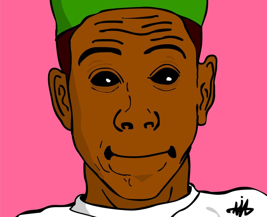 900x730 Tyler The Creator By Tiagorawr