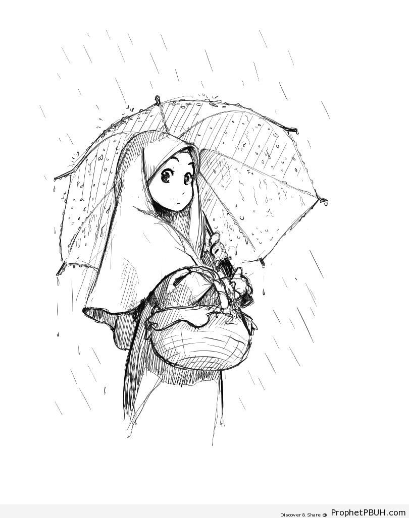 Umbrella Drawing Tumblr