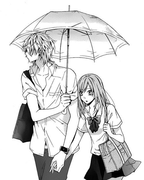 500x625 Tumblr Anime Black White Anime, Manga